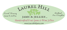 Laurel Hill Jams and Jellies Logo