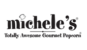 Michele's Totally Awesome Gourmet Popcorn Logo